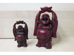 Shoushan Buddha Figure Holding an Ingot