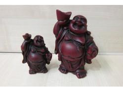 Shoushan Buddha Figure Holding a Gourd and Ingot