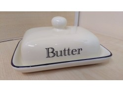 Ceramic Cream Butter Dish