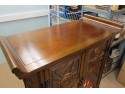 Chinese Elm Tall Cabinet