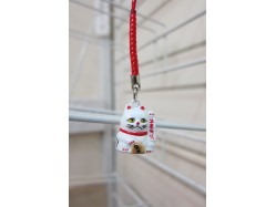 Lucky Cat Bag Charm Left Paw