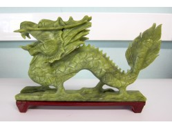 Large Chinese Jade Dragon
