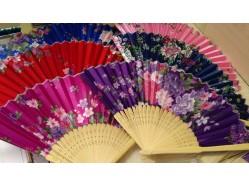 Satin Hand Fan