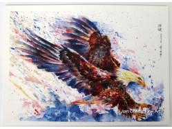 Eagle Postcard Print