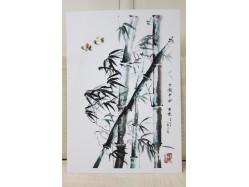 Bamboo Postcard Print