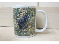 Lisa Parker Black Cat, Pentagram & Ivy Mug
