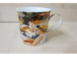 Luncheon of the Boating Party Mug - Pierre Auguste Renoir