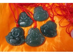 Jade Buddha Pendant Necklace