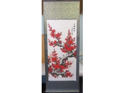 Chinese Plum Blossom Scroll
