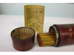 Canister of Chinese Fortune Telling Sticks
