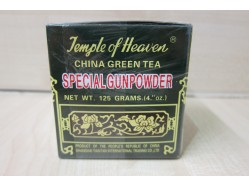 Special Gunpowder China Green Tea 125g