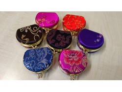 Small Brocade Oriental Jewellery Box