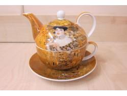 Adele Bloch Tea for One - Gustav Klimt