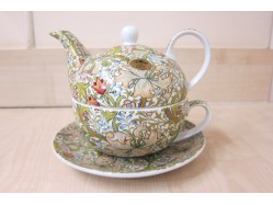 Golden Lily Tea for One - William Morris