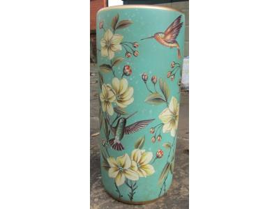 Humming Birds Umbrella Pot