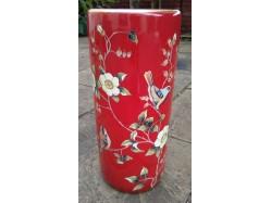 Chaffinch Red Umbrella Stand