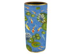 Koi Carp Fish Umbrella Pot