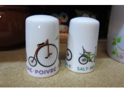 Bicycle Cruet Set