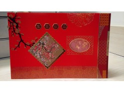 Chinese Birthday Greeting Card
