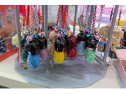 Japanese Kokeshi Doll Charm