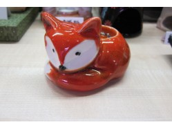 Red Orange Fox Tealight Candle Holder