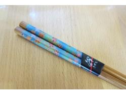 Japanese Style Blue Floral Chopsticks