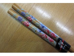 Japanese Style Pink and Blue Flowers Chopsticks