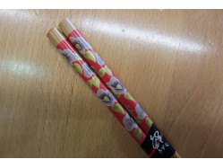Japanese Style Red Pink Flowers chopsticks