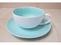 Aqua Cup & Saucer Set