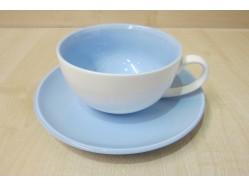Blue Cup & Saucer Set