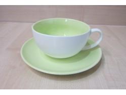 Green Cup & Saucer Set