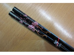 Pink Flower Chopsticks
