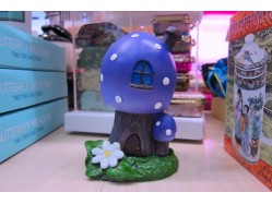 Purple Toadstool Incense Cone Burner