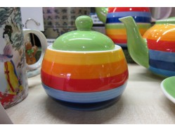 Rainbow Dreams Sugar Pot