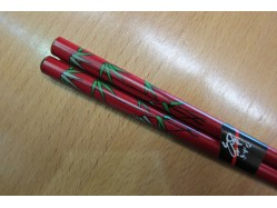 Red Bamboo Chopsticks