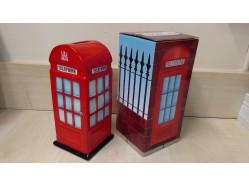 Red London Telephone Money Box