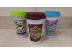 Retro Coffee Travel Mug