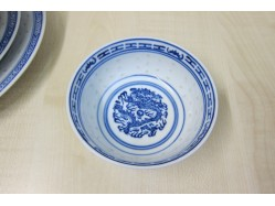 Chinese Rice Pattern Rice Bowl 11.5cm