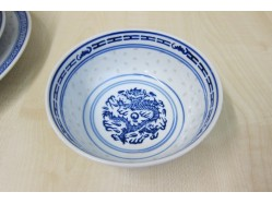 Chinese Rice Pattern Rice Bowl 12.5cm