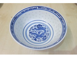 Chinese Rice Pattern Bowl 18cm