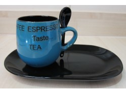 Mug, Spoon & Plate