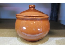 Terracotta Soup Bowl with Lid