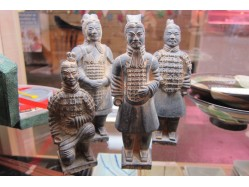 Set of Four Replica Terracotta Army Figures